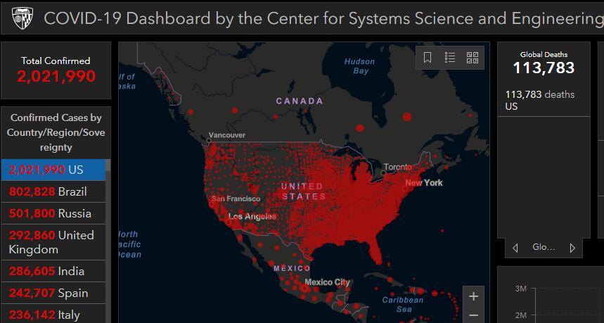 美国面临出现第二波疫情的风险