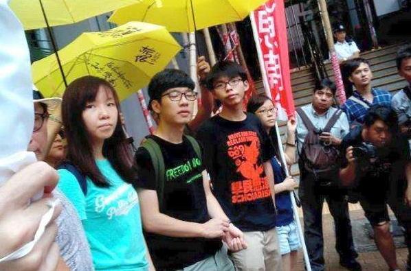 """黄之锋宣布退出港独组织""""香港众志"""""""