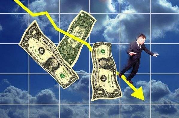 美元十年来最大月线跌幅